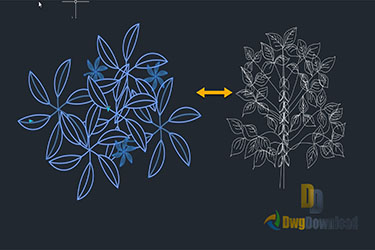 Dynamic Plant Block Dwg Download