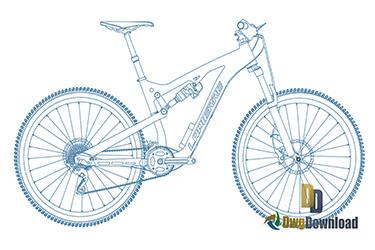 Mountain Bike Dwg Download