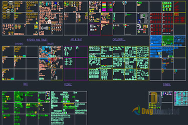 Mega Cads Blocks Dwg Library Archive