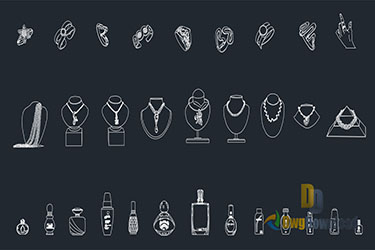Jewelry Cads Blocks Dwg Download