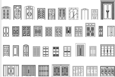 Double And Large Doors Elevation Cad Blocks  sc 1 st  DwgDownload.Com & Autocad Archives Of Cad Blocks Dwg | Page 6 | DwgDownload.Com pezcame.com