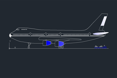 Autocad Archives Of Aircraft & Helicopters Dwg | DwgDownload Com