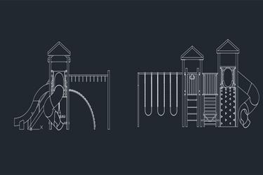 Playground For Children Dwg Download