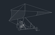 Tricycle Plane Dwg Download