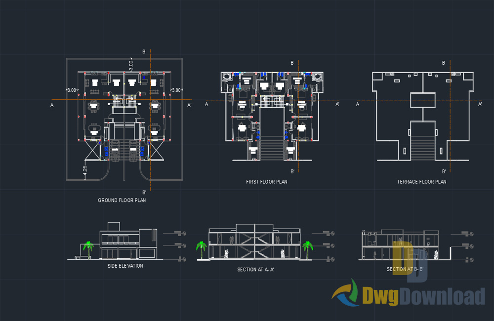 mumbai bungalow dwg, bungalow dwg, mumbai dwg, bungalow about  categories of architecture,building-house