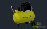 3D Pressure Compressor Dwg Download