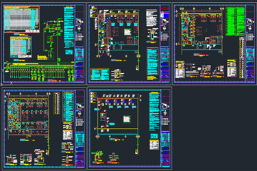 Bank Electrical Dwg Project