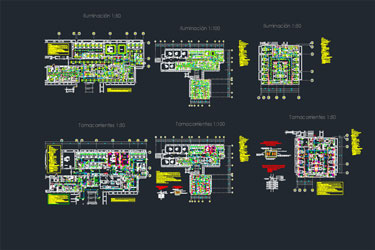 Hospital Electrical Dwg Project