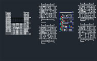 Law Firm Architectural Autocad Project