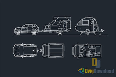Caravan Detail Drawings Dwg Download