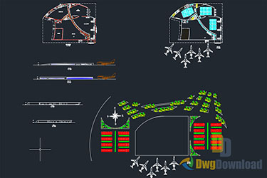 Airport Dwg Drawings