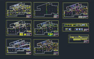 Gym Dwg Project