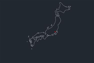 Japan Map Dwg