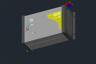 Inverter 3D Cad Drawing
