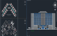5 Stars Hotel Plan Projects Dwg