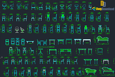 Chair Cad Blocks Dwg Download