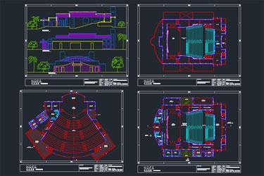 Auditorium Dwg Project
