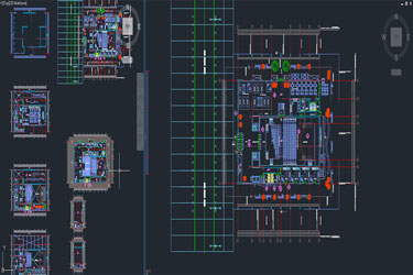 Cultural Center Dwg Project