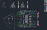 Cultural Center Full Dwg Project