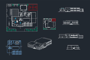 School Detail Dwg Project
