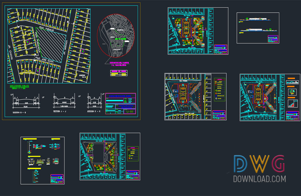 sport club dwg, sport center dwg, park dwg projects, sports dwg about  categories of urban,sports-games
