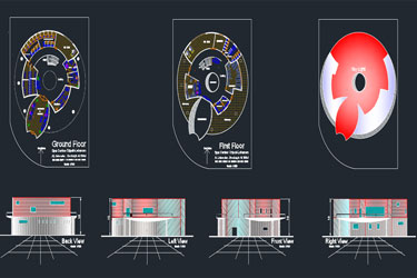 Spa Center Dwg Project