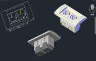 Power Point 3D Cad Drawing
