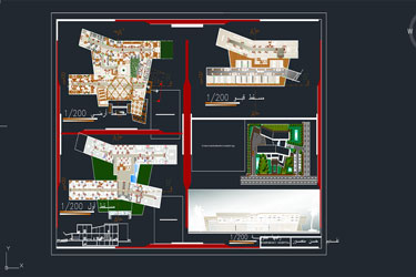 New Emergency Hospital Dwg Project