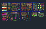 Multi Speciality Hospital Detail Dwg Project