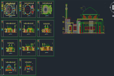 Mosque Project Dwg