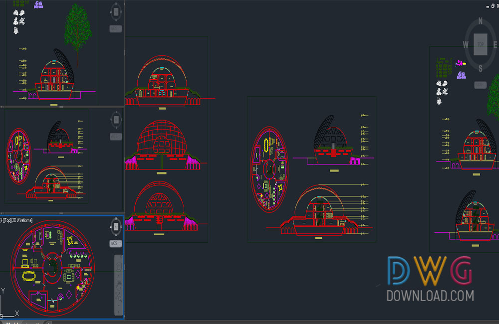house detail dwg, small family house dwg, family house dwg, architectural detail dwg about  categories of architecture,building-house