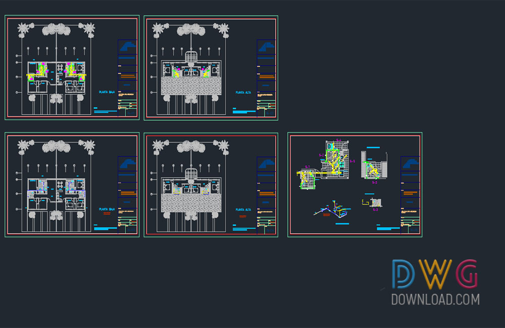 small family house dwg, house detail dwg, family house dwg, architectural detail dwg about  categories of architecture,building-house