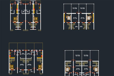 Row House Dwg Project