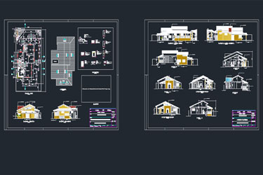 Beach House Dwg Project