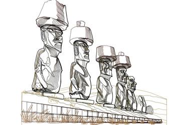 Easter Island Dwg