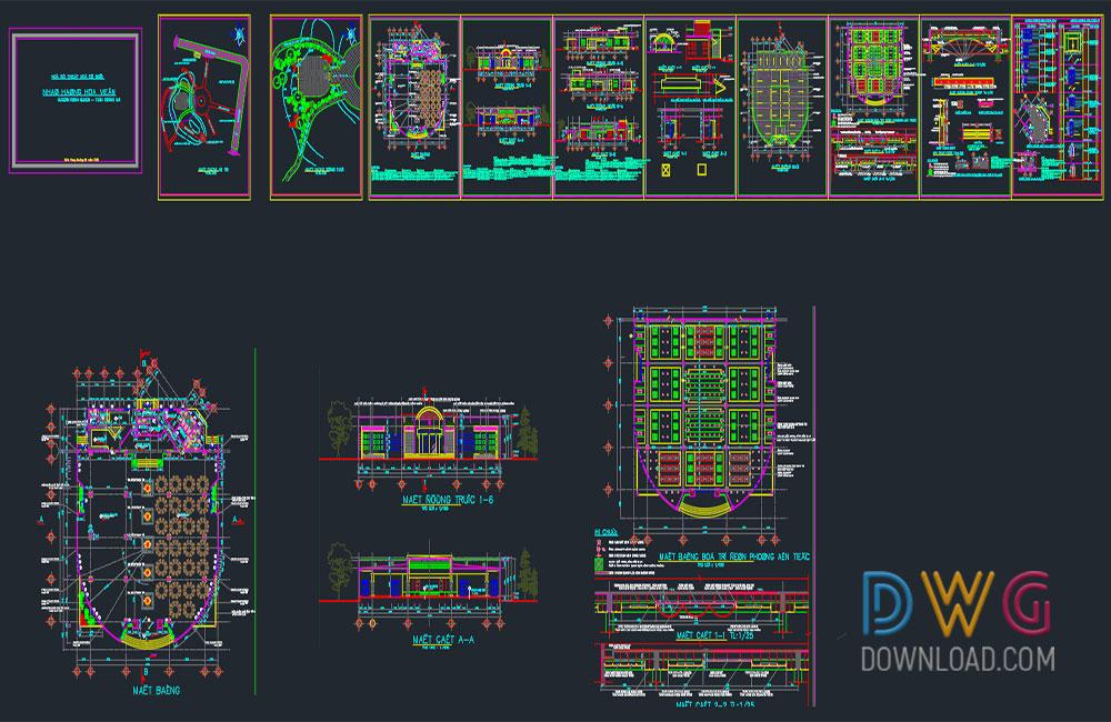 Small Coffee Shop Design Dwg Projets 187 Dwgdownload Com