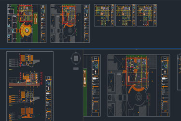 Central Library Dwg Project