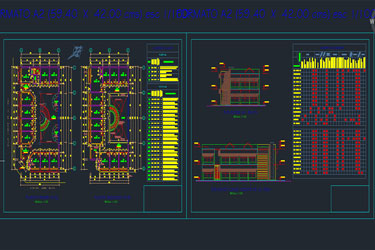 Shopping Centre Dwg Project