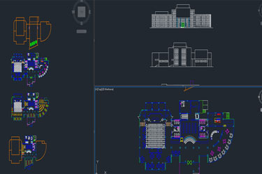 Autocad Archives Of Library & Office Dwg | DwgDownload Com