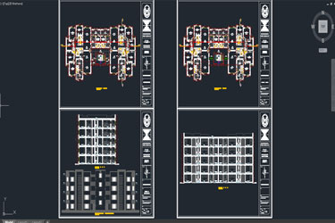 Multifamily Project Residential Dwg