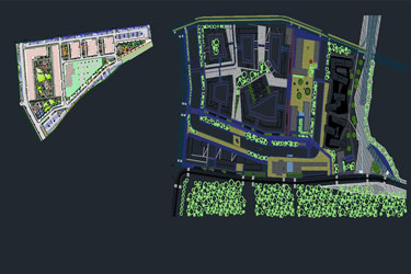 Urban Park Dwg Project