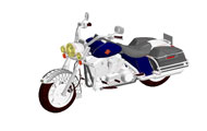 Harley Davidson Motorcycles Revit 3D Model