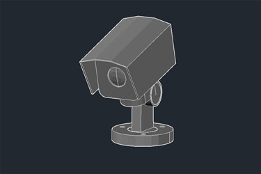 Security Camera Dwg