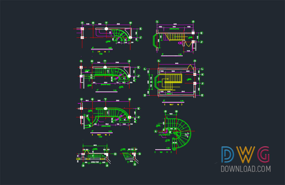 stairs details dwg, stairs dwg drawings, stairs about  categories of stairs
