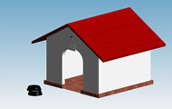 Dog House Revit 3D Model