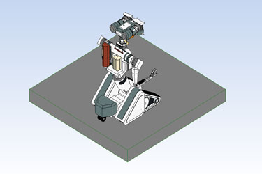 Robot Revit 3D Model