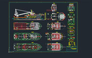Rescue Boat Autocad Project
