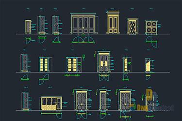 Autocad Archives Of Door Amp Windows Dwg Dwgdownload Com