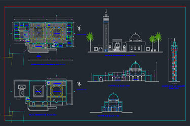Mosque Project Dwg 2