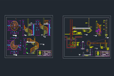 Autocad Archives Of Stairs Dwg | DwgDownload Com